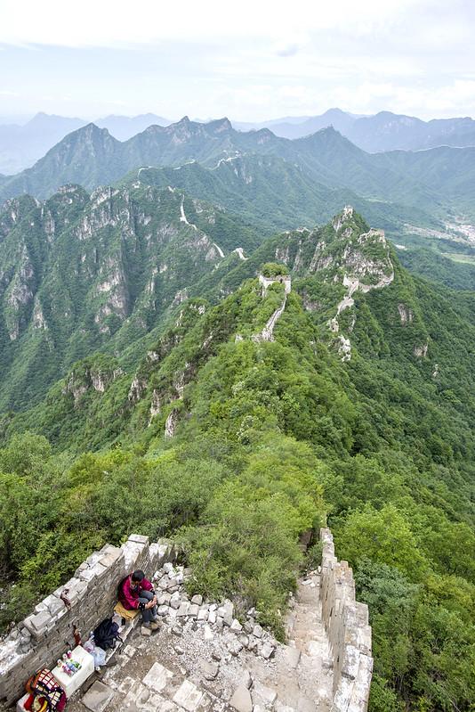hiking the wild wall jiankou section