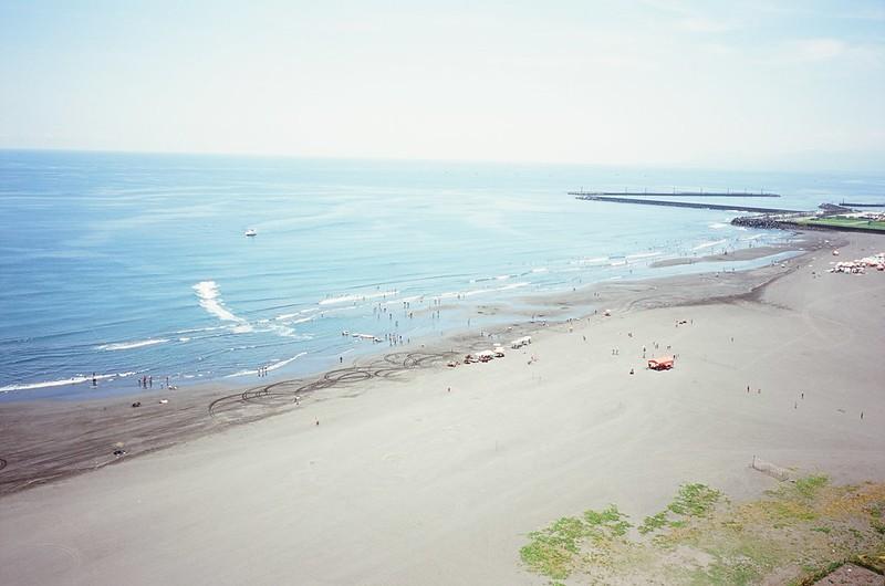 飛行傘 + 海灘