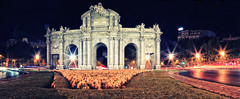 Puerta de Alcalá - Night