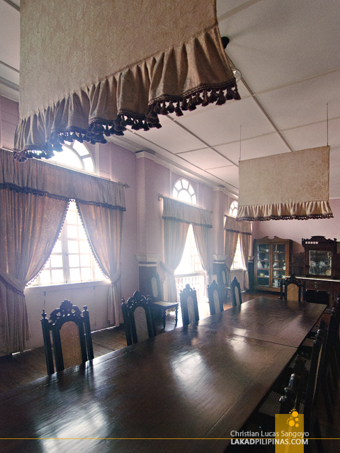 Dining Room at Syquia Mansion in Vigan City