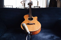 string instrument, acoustic guitar, guitar, acoustic-electric guitar, string instrument,