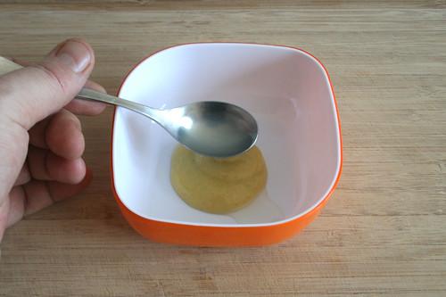 20 - Senf & Zitronensaft in Schüssel geben / Put mustard & lemon juice in bowl