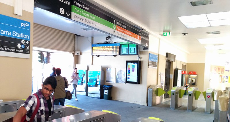 South Yarra station concourse