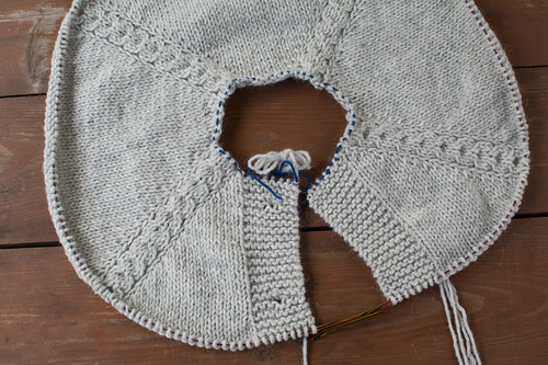 Knitting process