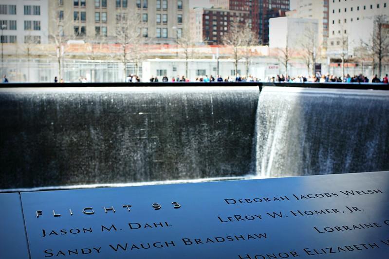 WTC-muistomerkki ja lento 93
