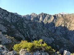 Calancha alla Lama et Cornodello depuis le sommet de la pointe 877m