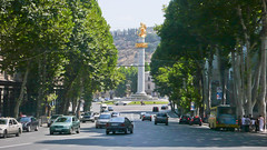 Plac Wolności, Tbilisi.