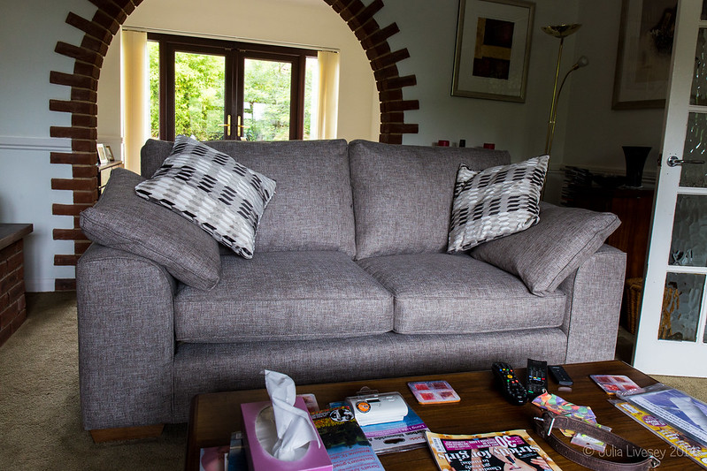 My new suite - the Sofa