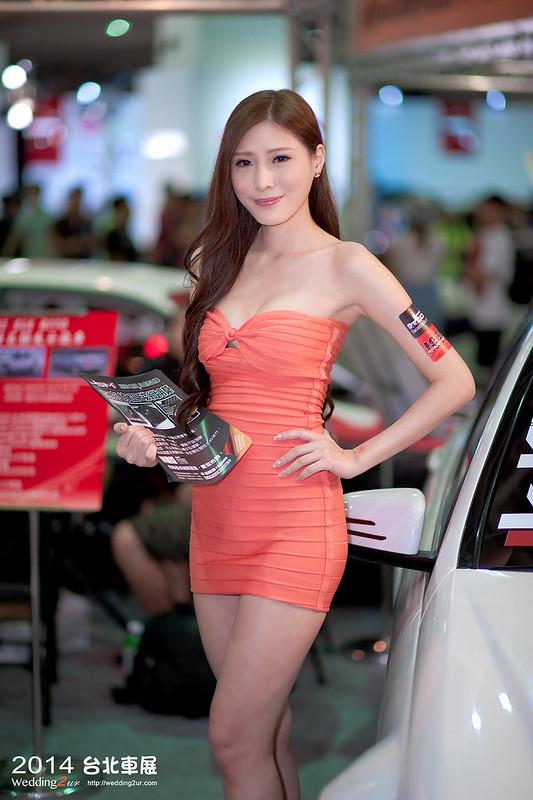 2014台北車展 show girl,38