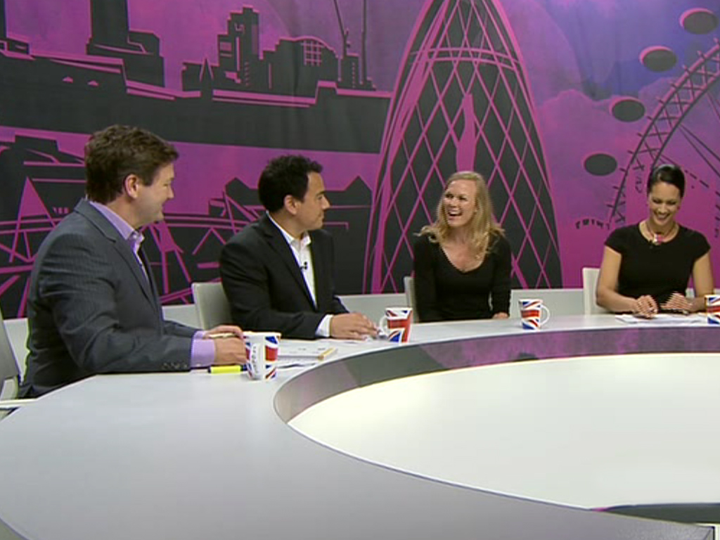 Set design of the ABC Paralympics 2012 broadcast