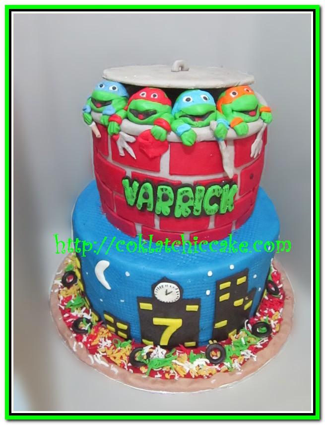 Cake Ninja Turtle