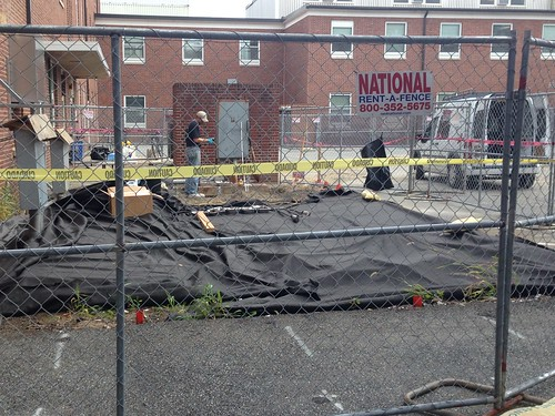Carcinogens unearthed behind DuPont Hall