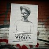 Stop telling women to smile. #wheatpaste #graffiti #StreetArt #Williamsburg #Brooklyn #NYC #feminism #SocialMessage #FuckThePatriarchy