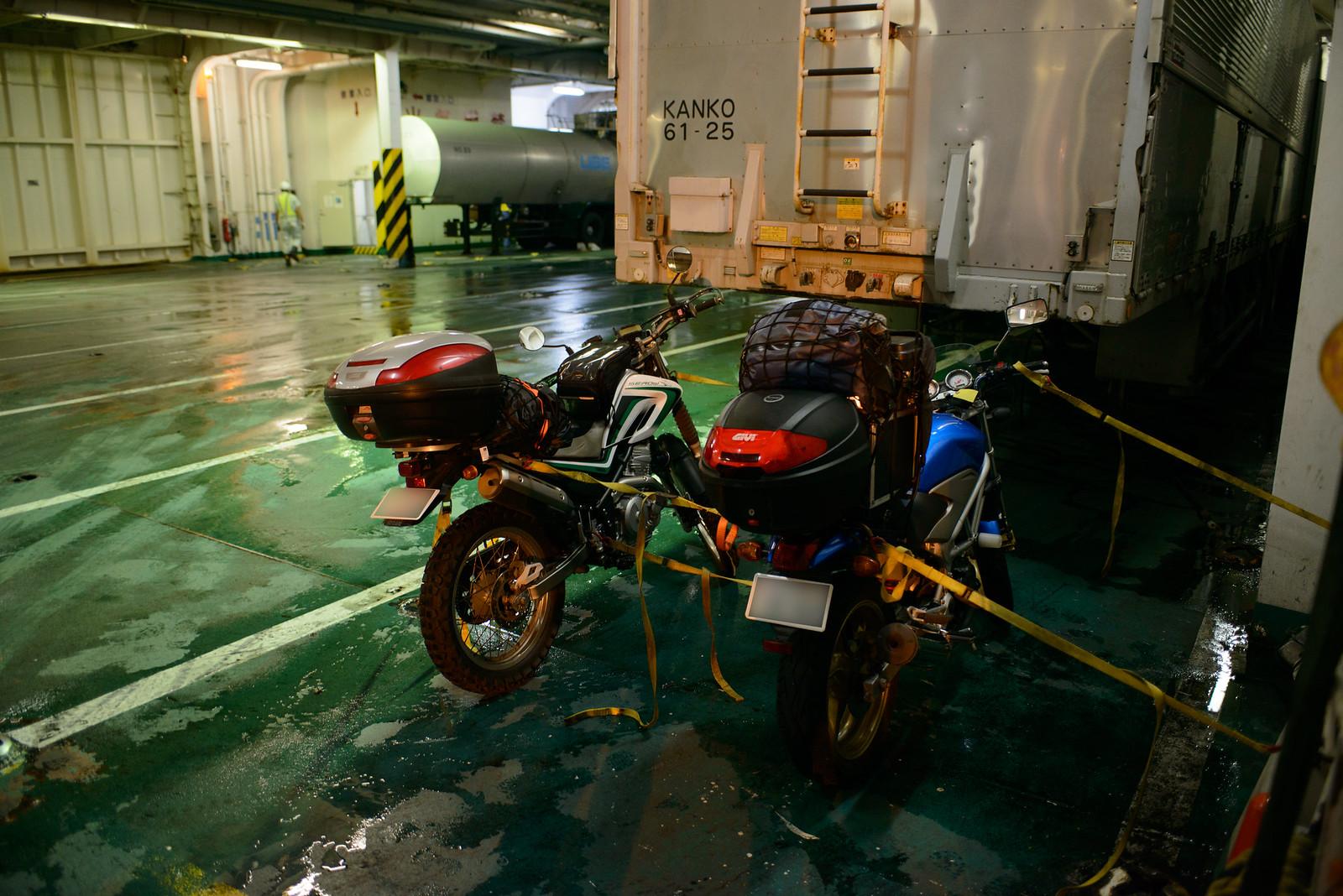 フェリーでバイクを東京湾から新門司へ ~九州ツーリング0日目~