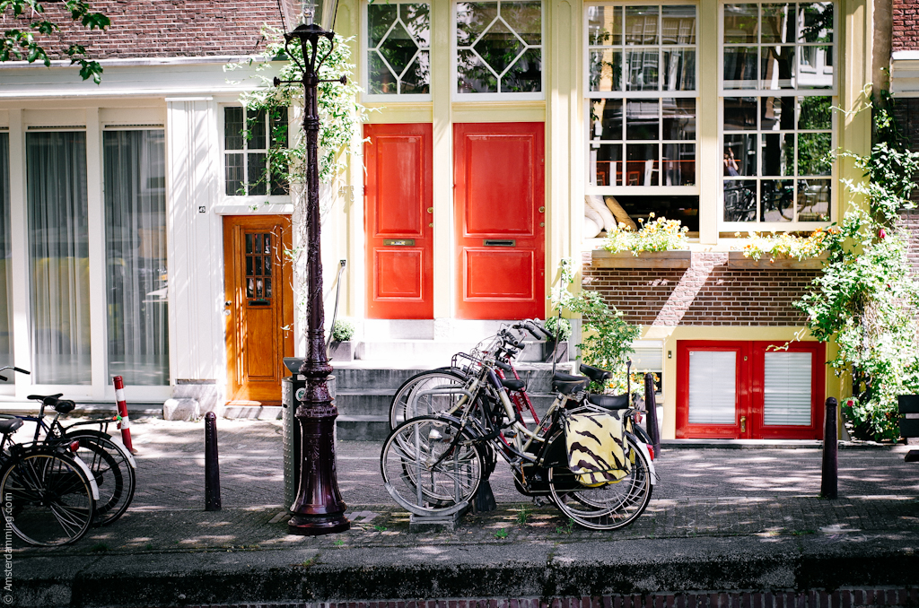 Amsterdam, House Entrances