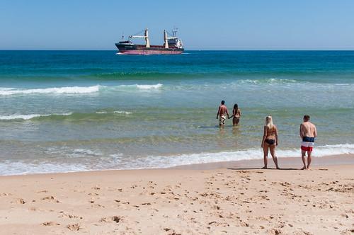 La playa con bandera azul de Ilha Deserta en Faro