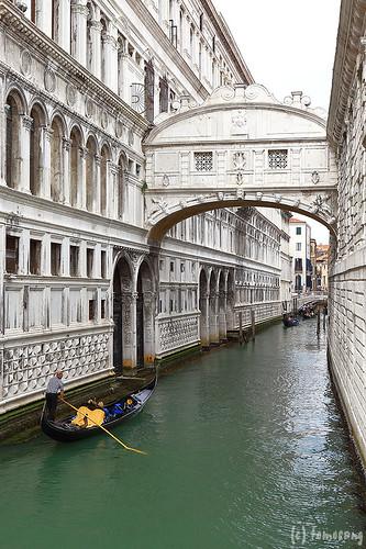 Venezia : Ponte dei Sospiri