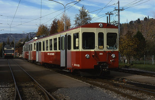 09.11.98 Blonay CEV 73 and MOB 7003