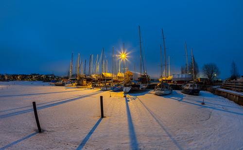 A harbour in Helsinki
