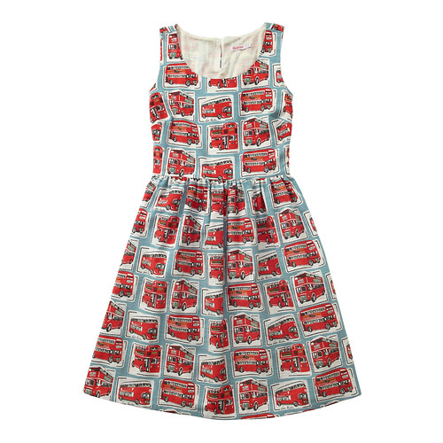 Cath Kidston Bus Print Dress