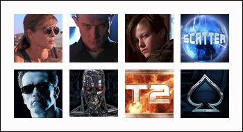 free Terminator 2 slot game symbols