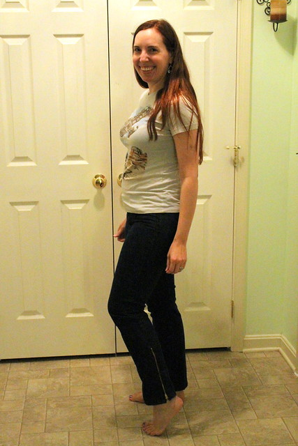 Skinny-ish jeans