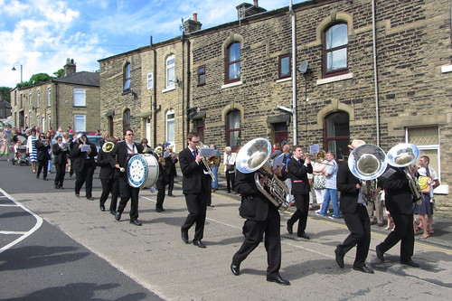 Yorkshire Traction Honley Band, Arundel Street, Mossley