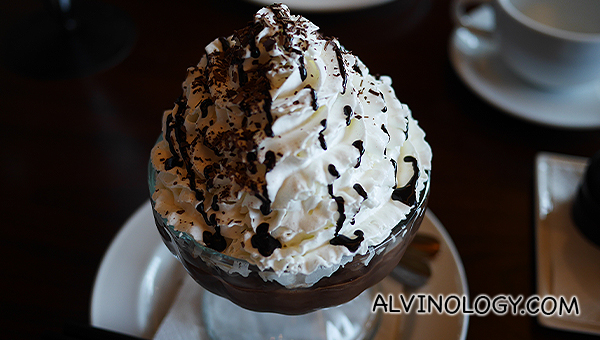 Frozen Hot Chocolate ($18)