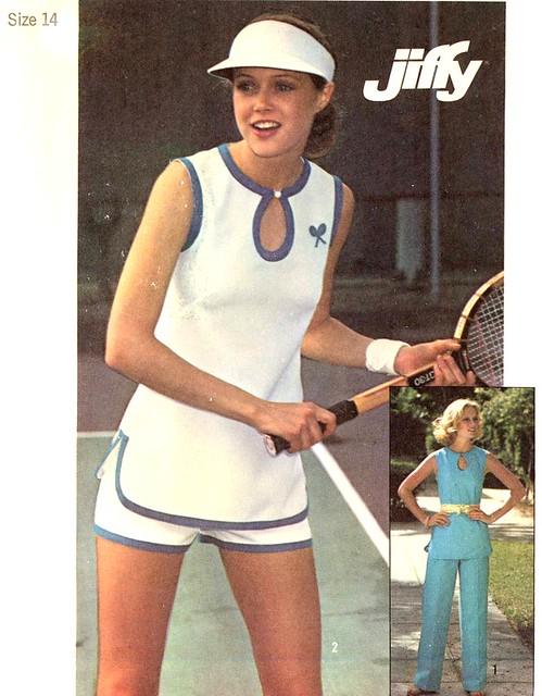 Simplicity 7518 tennis