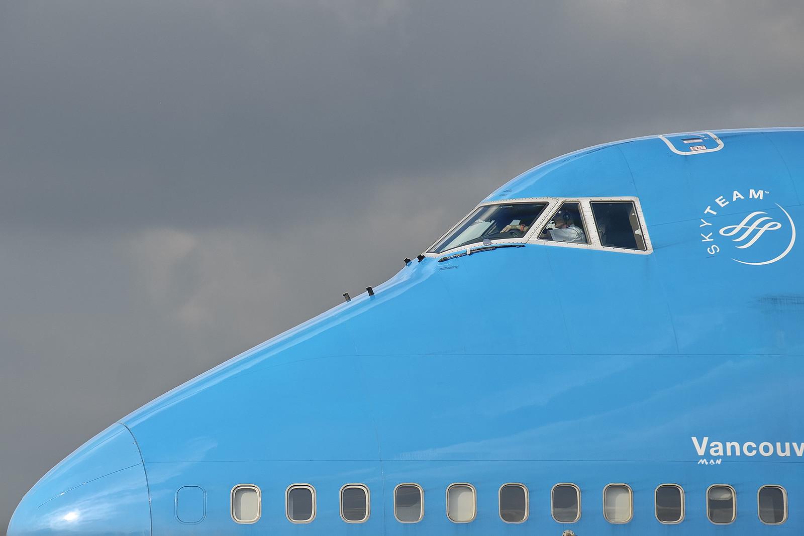 747 KLM Vancouver EHAM [Explore]