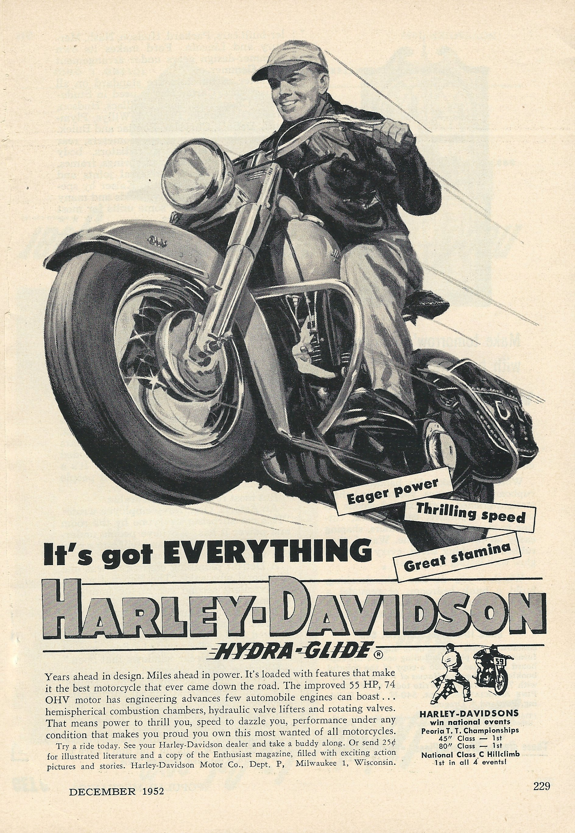 Harley Davidson Hydraglide And Duoglide Paint Colors Over The Years