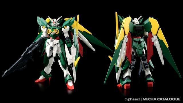 HGBF Gundam Fenice Rinascita - Colored Prototype Shots