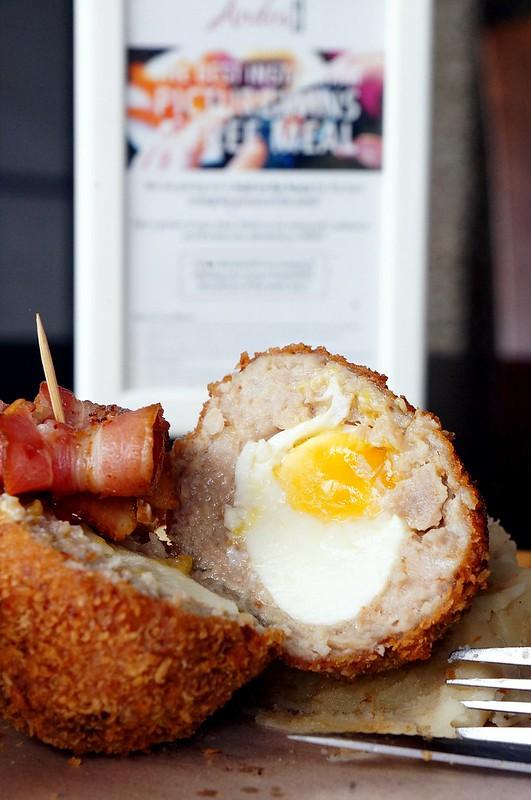 Yummy brunch at Andes BYO - Aman Suria - big breakfast, scotch eggs, french toast-011