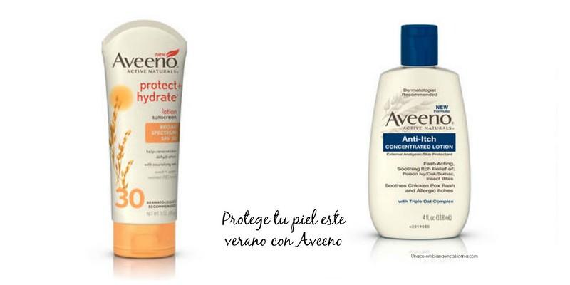 Protege tu piel durante las vacaciones con Aveeno