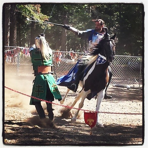 Knights at the Ren Faire #renfair #tahoe #summer #knights