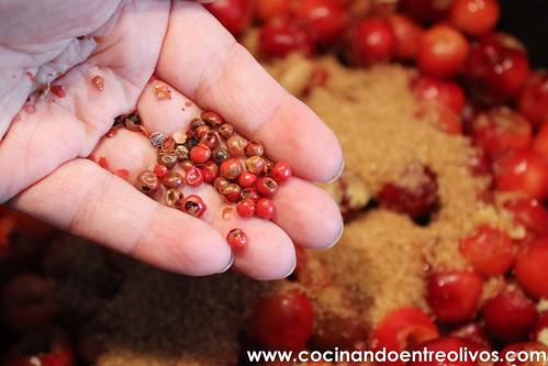 Chutney de cerezas www.cocinandoentreolivos (12)