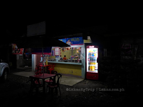 The store at night. DDD Habitat Inc. in Lorega, Kitaotao, Bukidnon