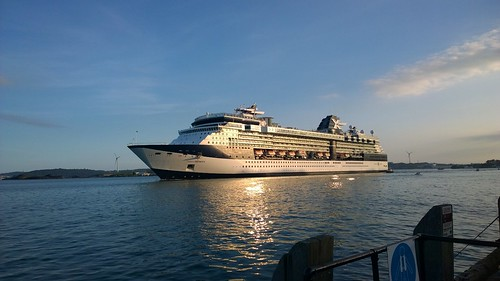 Celebrity Infinity leaving Cobh. by despod