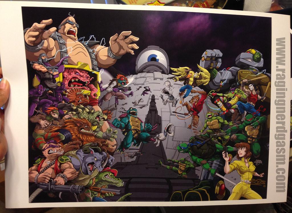 TMTN 30th Aniversary Cover Exclusive for Puerto Rico Comic Con