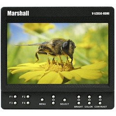 "Marshall V-LCD50-HDI 5"" On-Camera Monitor"