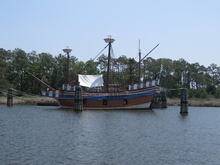 Image of Elizabeth Ii State Historic Site near Manteo.