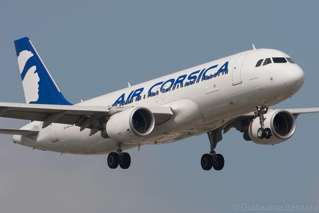 F-HZPG - A320 - Air Corsica