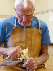 carving greenwood brush