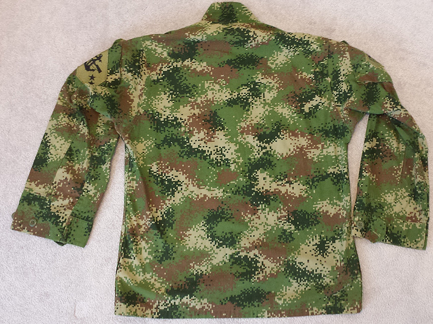 Colombian Digital Camo M65 Field Jacket with Liner 14478009281_54aabe891e_b