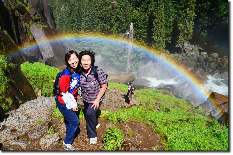 Taken under rainbow, Vernal Fall 4