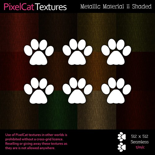 PixelCat Textures - Metallic Material II Shaded