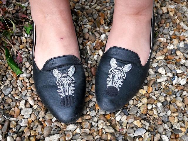 ASOS Zebra shoes