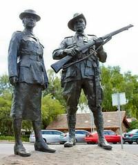 Aboriginal & Torres Strait Islander War Memorial, Victoria Drive, Torrens Parade Ground, Adelaide (Photo courtesy of MonumentAustralia.org.au)