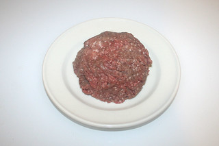 06 - Zutat Hackfleisch / Ingredient ground meat