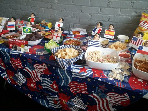 Deskey World Cup party